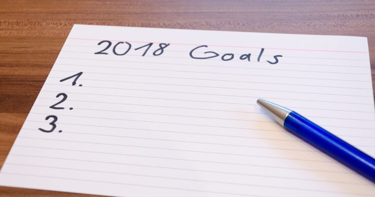 My new year's resolution 2018, and what's yours?
